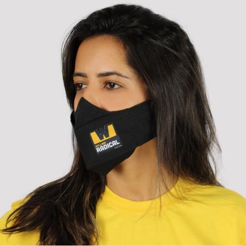 Máscara 3D WR Logo - Preto