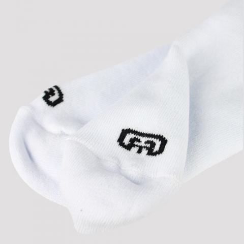 Meia Hocks Cano Curto Logo - Branco