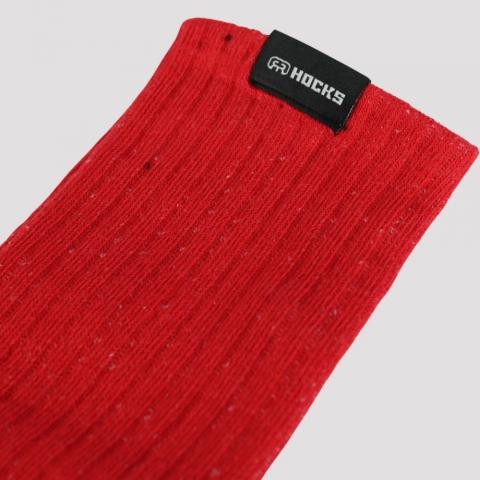 Meia Hocks Clip - Vermelho