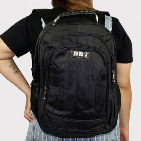 Mochila DR7 Notebook - Preto Total