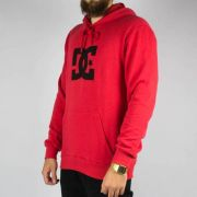 Moletom DC Shoes Pack Star Color Racing Red