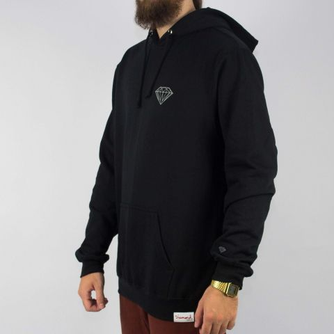 Moletom Diamond Brilliant Hoodie Preto