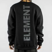 Moletom Element Vertical Preto