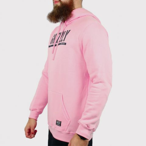 Moletom Grizzly Stamped Hoodie - Rosa