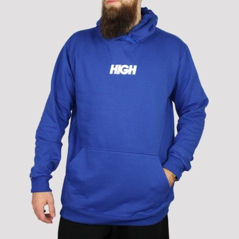 Moletom High Reflective Hoodie Logo - Blue
