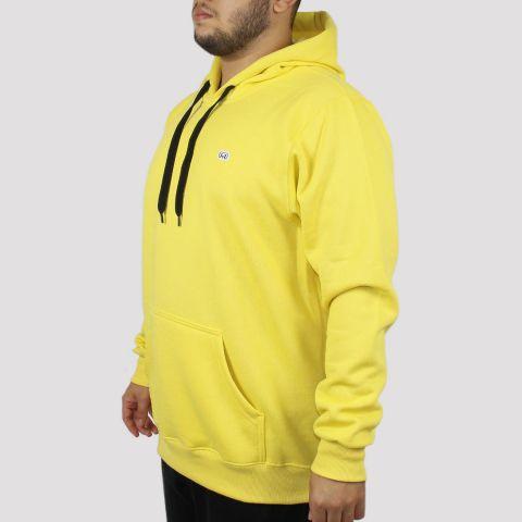 Moletom Hocks Canguru Fechado Suave - Amarelo