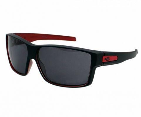 Óculos de Sol HB Big Vert Preto Fosco/Vermelho