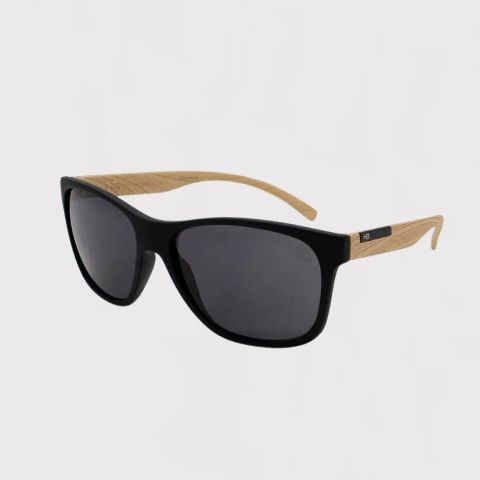 Óculos de Sol HB Underground Preto/Madeira