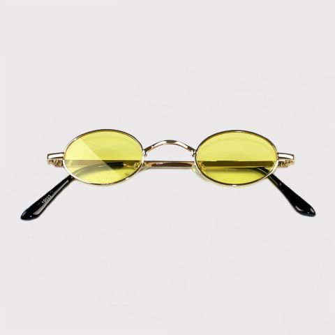 Óculos Festivo Jazz Amarelo