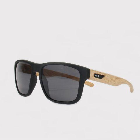 Óculos HB H-Bomb Matte - Preto/Madeira