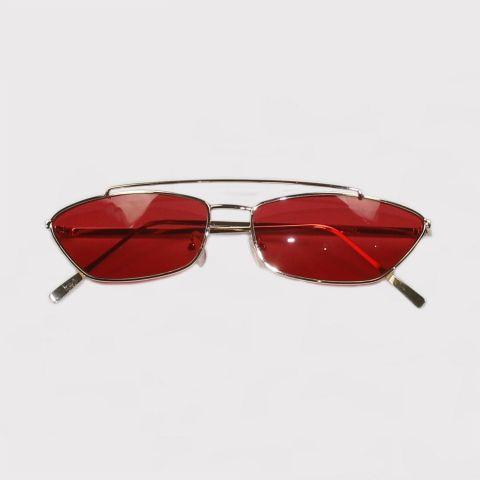Óculos Retro Vermelho