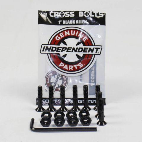 Parafuso Black Allen Independent Base 10 Preto