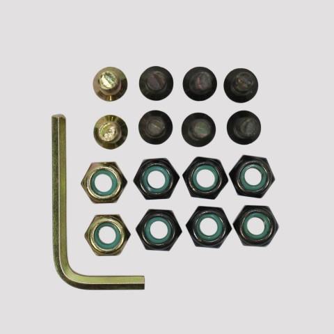 Parafuso De Base 10 Silver - Dourado