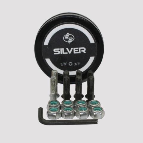Parafuso De Base 10 Silver - Prata
