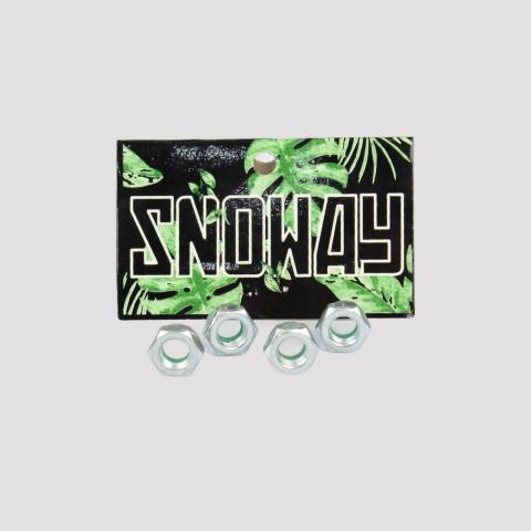 Porca Para Truck Snoway - Prata