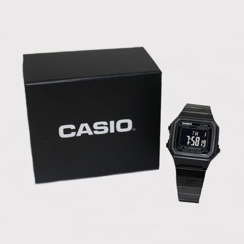 Relógio Casio Vintage B650WB - 1BDF - SC - Preto