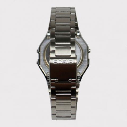 Relógio Casio Vintage 158WA-1DF - Prata