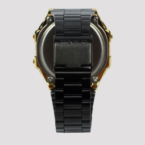 Relógio Casio Vintage A168WEGB-1BDF - Preto