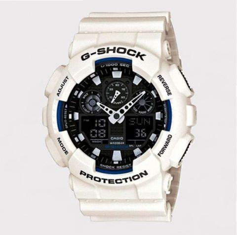 Relógio G-Shock GA-100B-7ADR - Branco