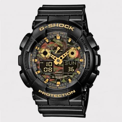 Relógio G-Shock GA-100CF-1A9DR - Preto