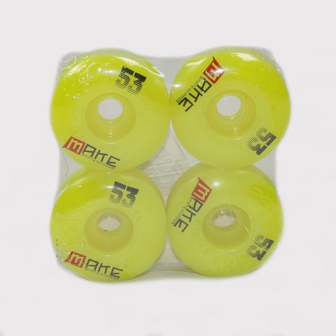 Roda Make 53mm - Verde Florescente