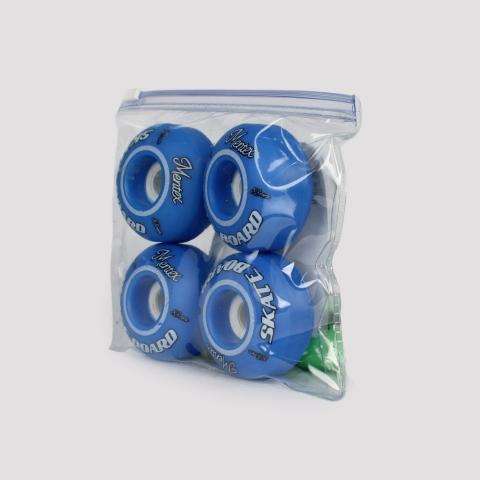 Roda Mentex 53 mm - Azul/Branco