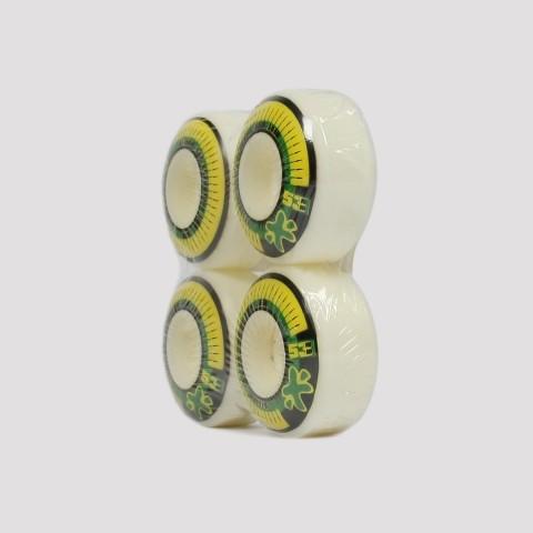 Roda Next 53mm - Verde/Branco