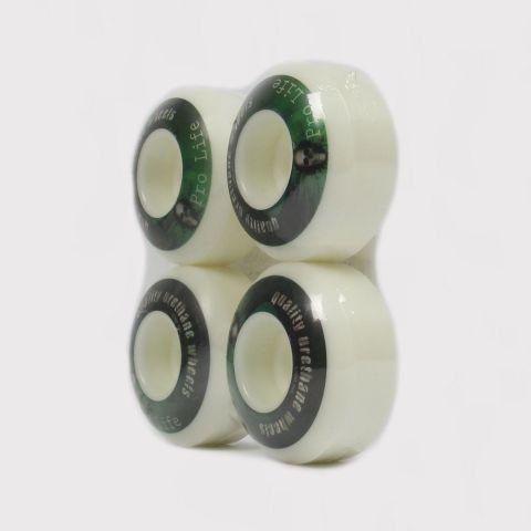 Roda Pro Life 52mm - Verde/Branco