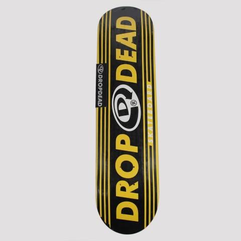 Shape Drop Dead Marfim Linear 7.75 - Preto/Amarelo/Branco