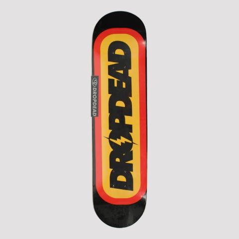 Shape Drop Dead Marfim Rayo 7.9 - Preto/Amarelo/Vermelho