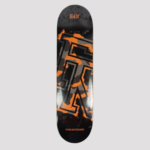 Shape Foton Skateboards R4W Camo Marfim - Preto