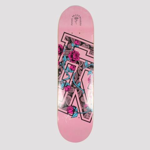Shape Foton Skateboards Roses Marfim - Rosa