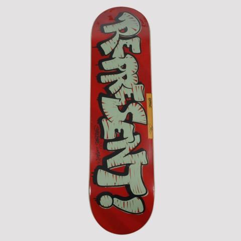 Shape Represent Marfim Tag 8.125 - Vermelho