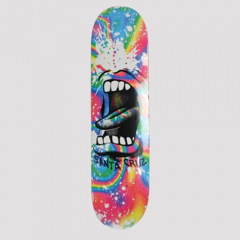 Shape Santa Cruz Powerlyte Big Mouth Splatter- White
