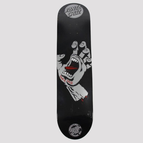Shape Santa Cruz Screaming Hand 8.0 - Preto/Prata
