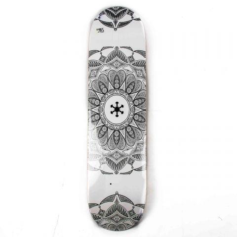 Shape Snoway Mandala 7.75 Branco/Preto