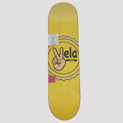 Shape Vela Paz e Amor - Amarelo/Preto