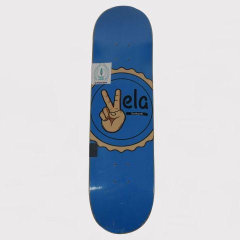 Shape Vela Paz e Amor - Azul/Preto