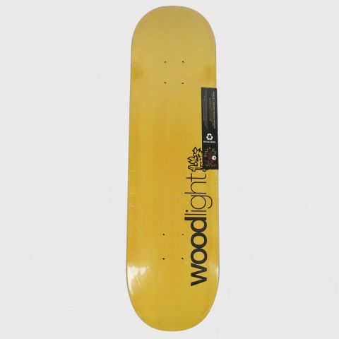 Shape Wood Light Fiberglass Logo - Amarelo