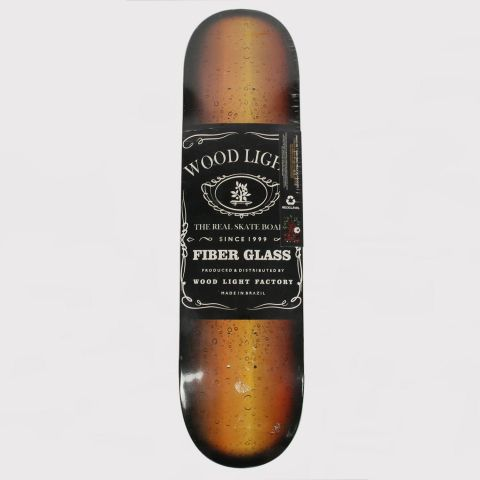 Shape Wood Light Jack Daniels