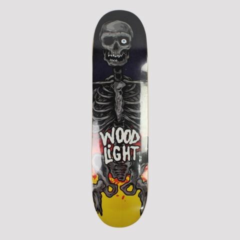 Shape Wood Light Skull
