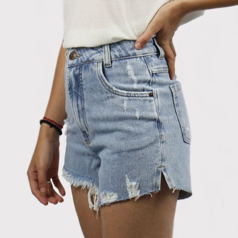 Shorts Lerrux Jeans Hot Pants Azul Claro