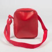 Shoulder Bag DR7 Couro Vermelha