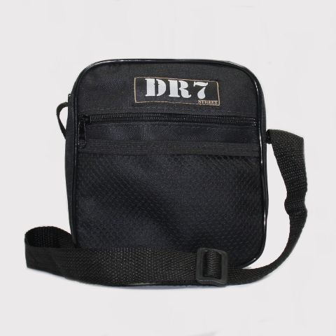 Shoulder Bag DR7 Retangular - Preto