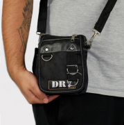 Shoulder Bag DR7 Street Argola Preto
