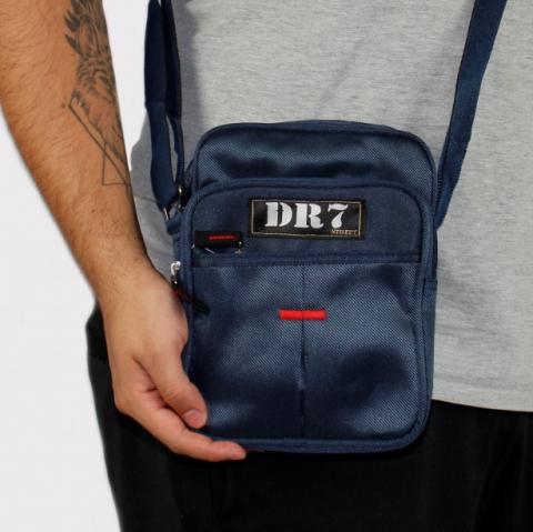 Shoulder Bag DR7 Street Azul Marinho