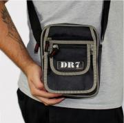 Shoulder Bag DR7 Street Preta/Dourado