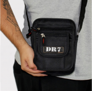 Shoulder Bag DR7 Street Preto