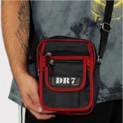 Shoulder Bag DR7 Street Preto/Vermelho