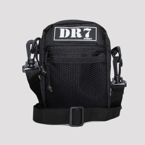 Shoulder Bag DR7 Street Tela - Preta